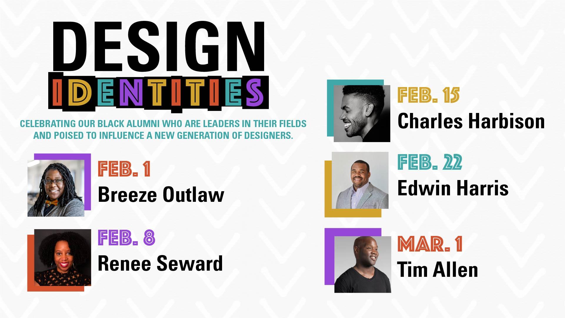 Design Identities Alumni Lineup