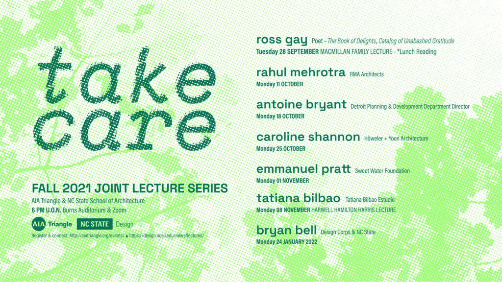 architecture fall 2021 lecture series